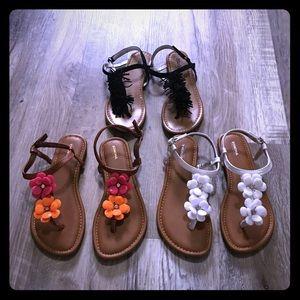 Other - Girls Sandals Bundle